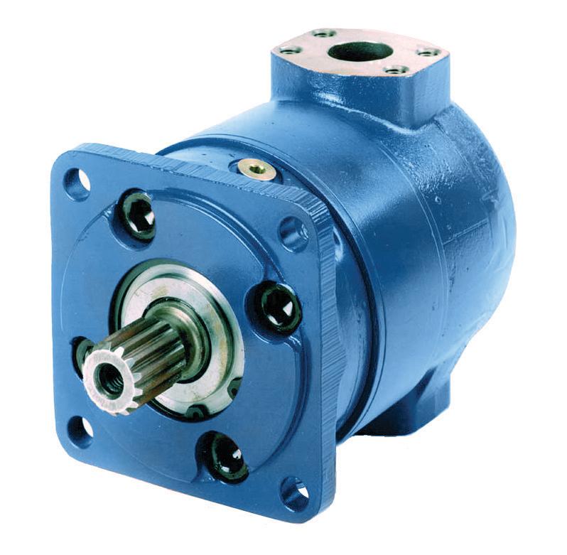 bosch rexroth rineer hydraulic vane high torque motors ets